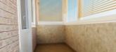 Отделка балконов и лоджий. Внутренняя отделка