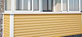 Отделка балконов и лоджий. Внешняя отделка