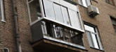 Остекление балконов в хрущевке, сталинке