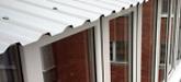 Крыша на балкон, лоджию