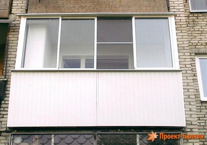 Балкон под ключ 6 метров крыша цена.