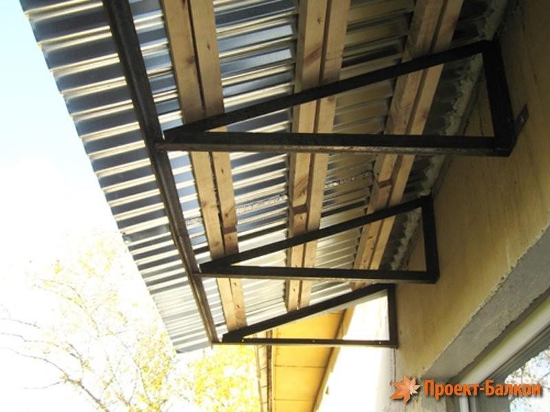 Крыши для балконов.