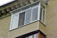 Остекление алюминием Provedal, монтаж крыши, отделка сайдинг