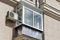 Холодное остекление алюминием Provedal, установка крыши