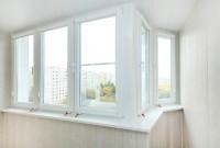 Окна Rehau, утепление и полная отделка ламин. панелями